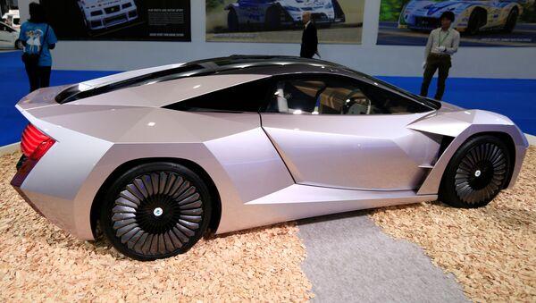 NCV, coche japonés construido con desechos agrícolas - Sputnik Mundo