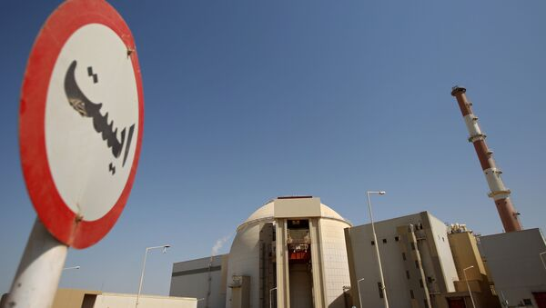 Una planta nuclear iraní (archivo) - Sputnik Mundo