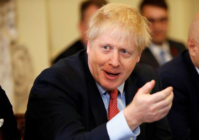 Boris Johnson, el primer ministro británico (archivo)