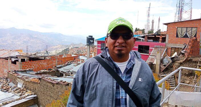 Rubén Fernández, ejecutivo del bloque universitario de La Paz (MAS)