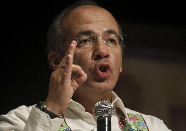 Felipe Calderón, expresidente de México