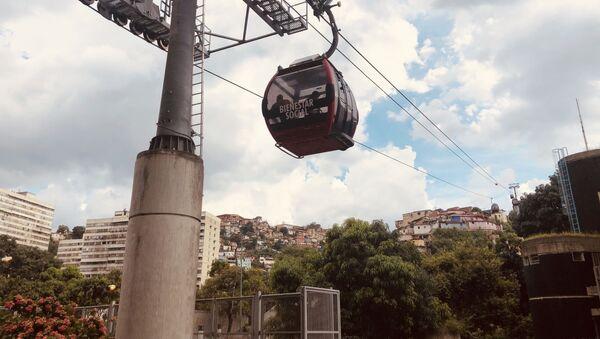 Teleférico a San Agustín, en Caracas - Sputnik Mundo