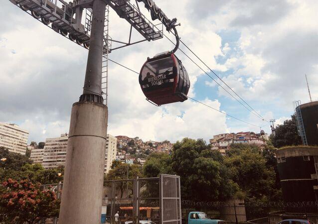 Teleférico a San Agustín, en Caracas