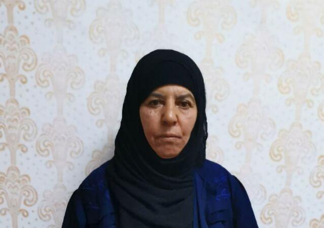 Rasmiya Awad, hermana del fundador y líder de ISIS, Abu Bakr Bagdadi