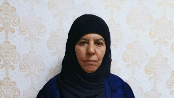 Rasmiya Awad, hermana del fundador y líder de ISIS, Abu Bakr Bagdadi - Sputnik Mundo