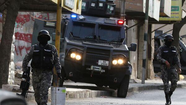 Fuerzas de seguridad de Jordania - Sputnik Mundo