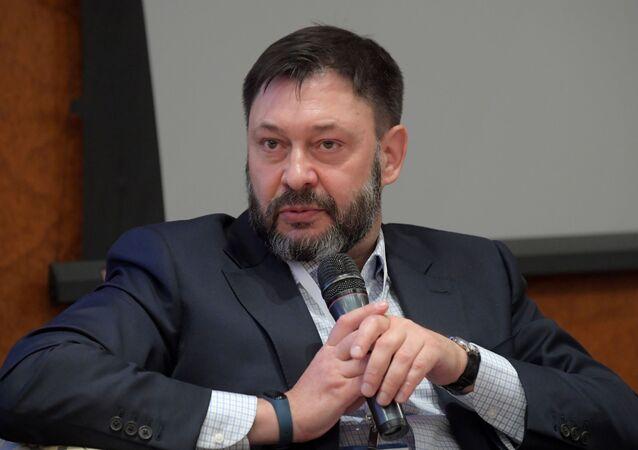 El periodista Kiril Vishinski