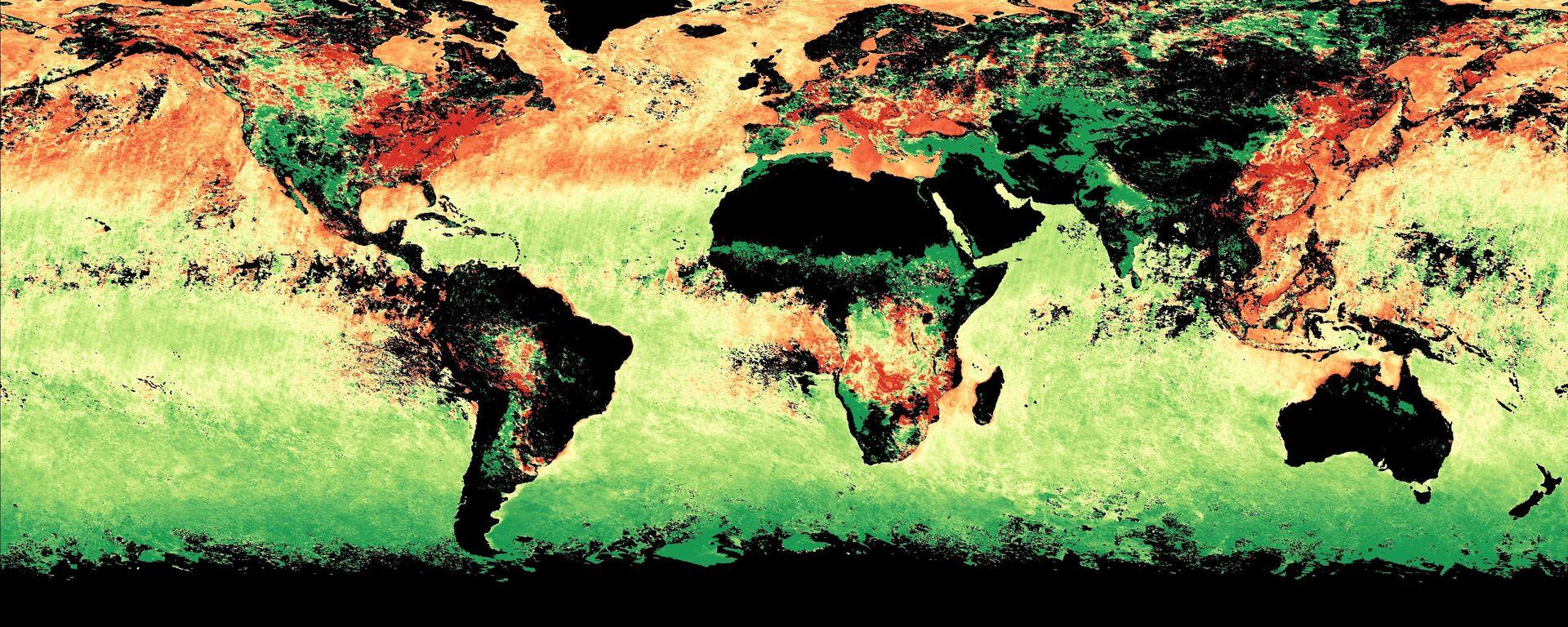 Cambios en la atmósfera terrestre - Sputnik Mundo, 1920, 08.09.2021
