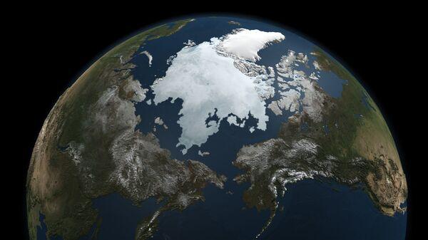 Hielo en el océano Ártico - Sputnik Mundo