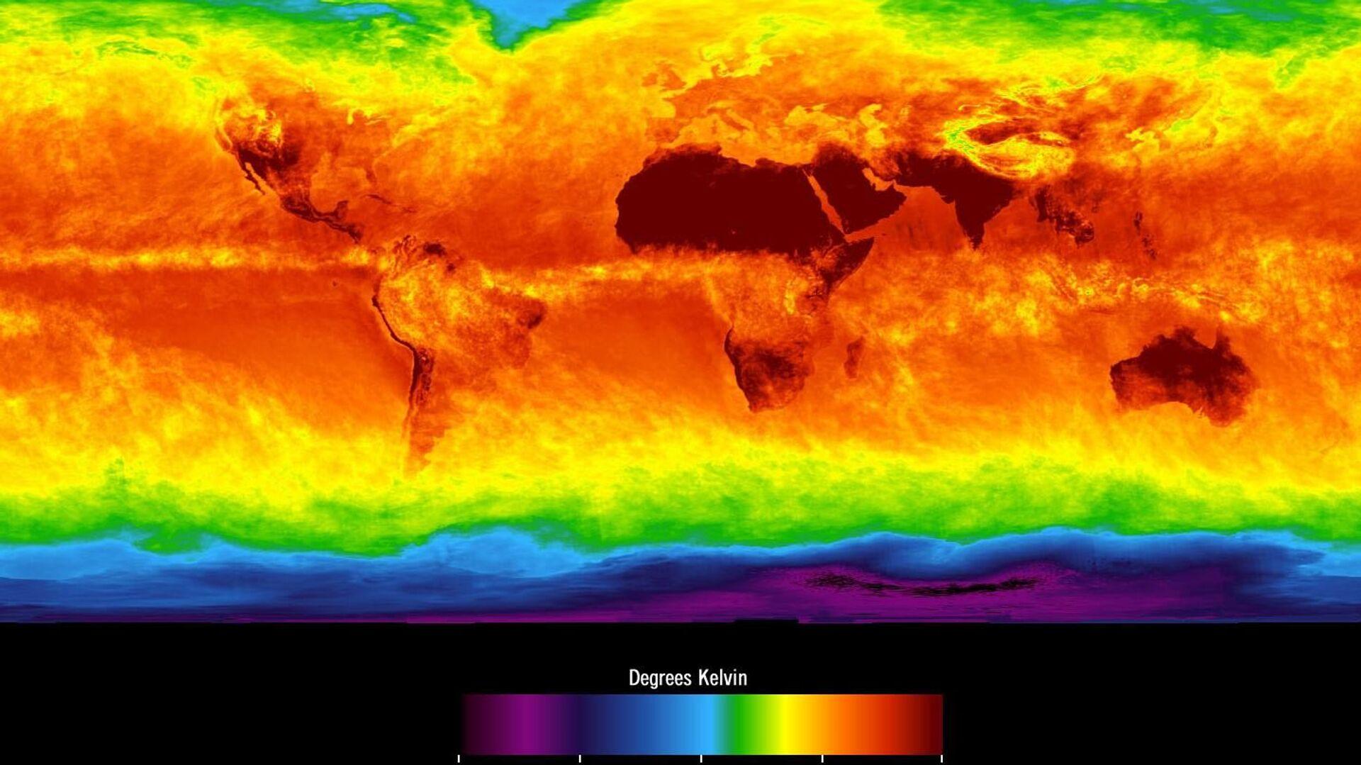 Mapa climático mundial - Sputnik Mundo, 1920, 24.02.2020