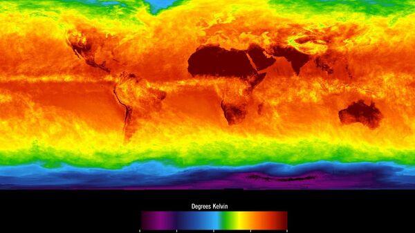 Mapa climático mundial - Sputnik Mundo