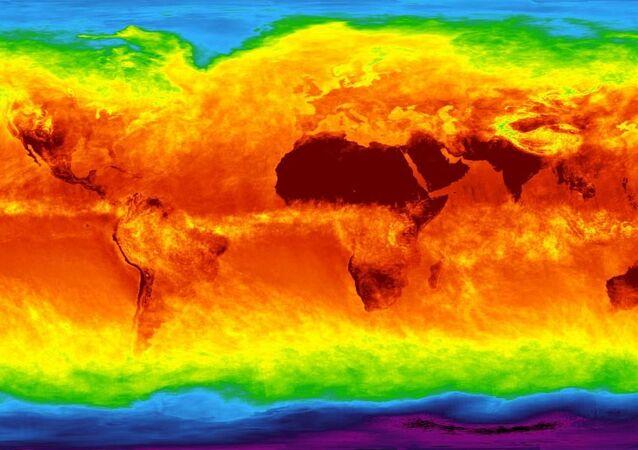 Mapa climático mundial