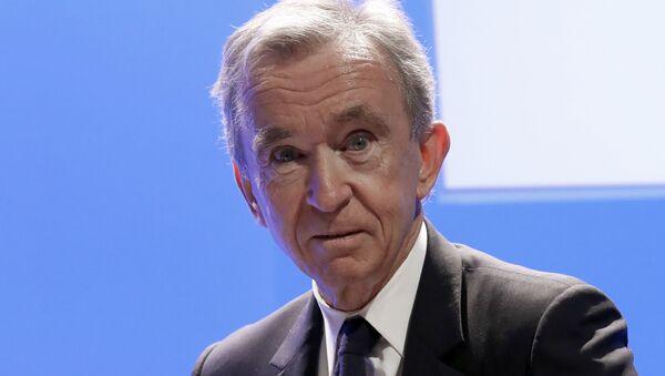 Bernard Arnault, magnate francés, director del grupo LVMH  - Sputnik Mundo