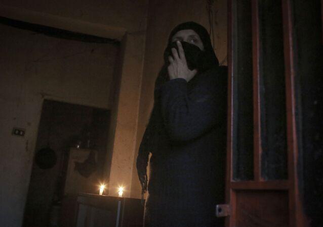 Una mujer árabe (imagen referencial)