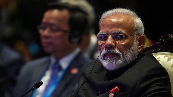 El primer ministro indio, Narendra Modi - Sputnik Mundo