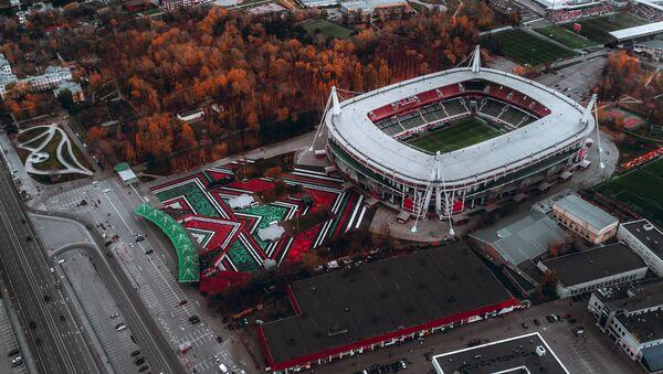 El estadio doméstico de Lokomotiv, RZD Arena  - Sputnik Mundo