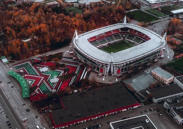 El estadio doméstico de Lokomotiv, RZD Arena