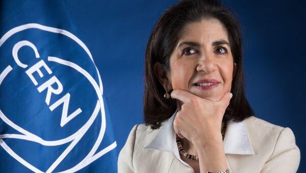 Fabiola Gianotti, directora general del CERN - Sputnik Mundo