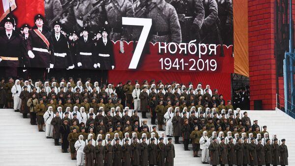 Preparativos para el 78° aniversario del desfile militar del 7 de noviembre de 1941 - Sputnik Mundo