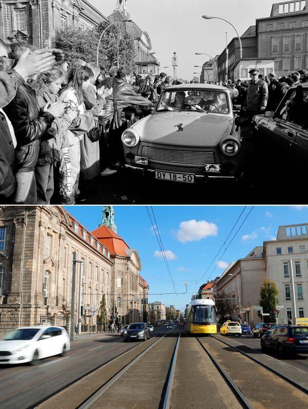 El día que lo cambió todo: se cumplen 30 años de la caída del muro de Berlín   - Sputnik Mundo