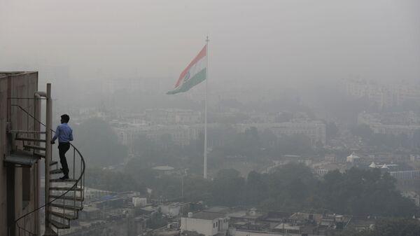 Contaminación atmosférica en Nueva Delhi - Sputnik Mundo