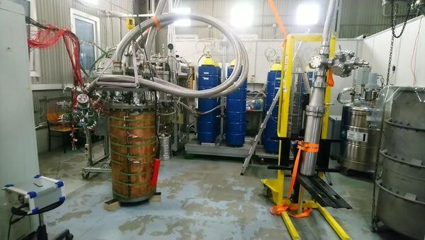 Detector RED 100 elaborado en el laboratorio de física experimental de la MEPhI - Sputnik Mundo
