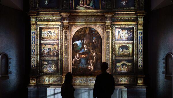 Exposición digital e interactiva 'Leonardo: Experience a Masterpiece' - Sputnik Mundo