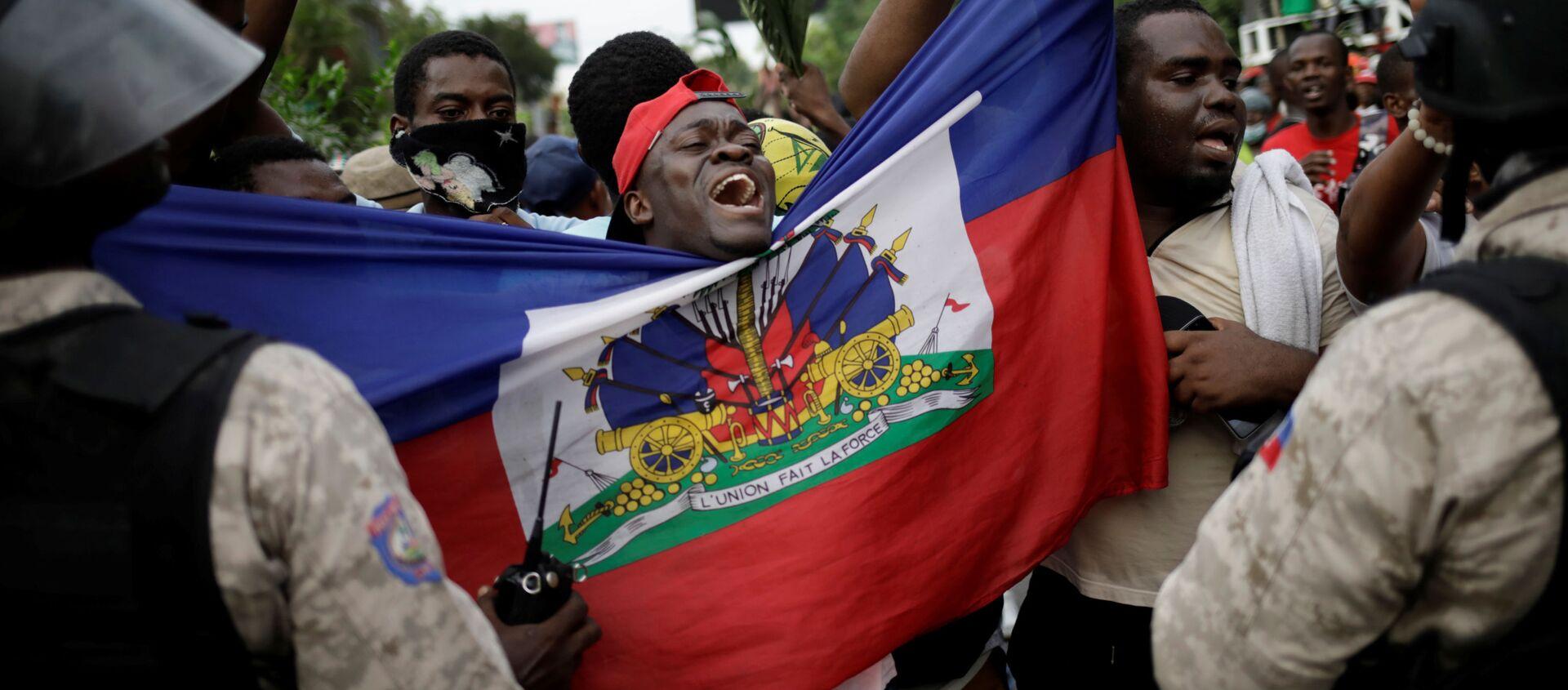 Protestas en Haití - Sputnik Mundo, 1920, 08.11.2019