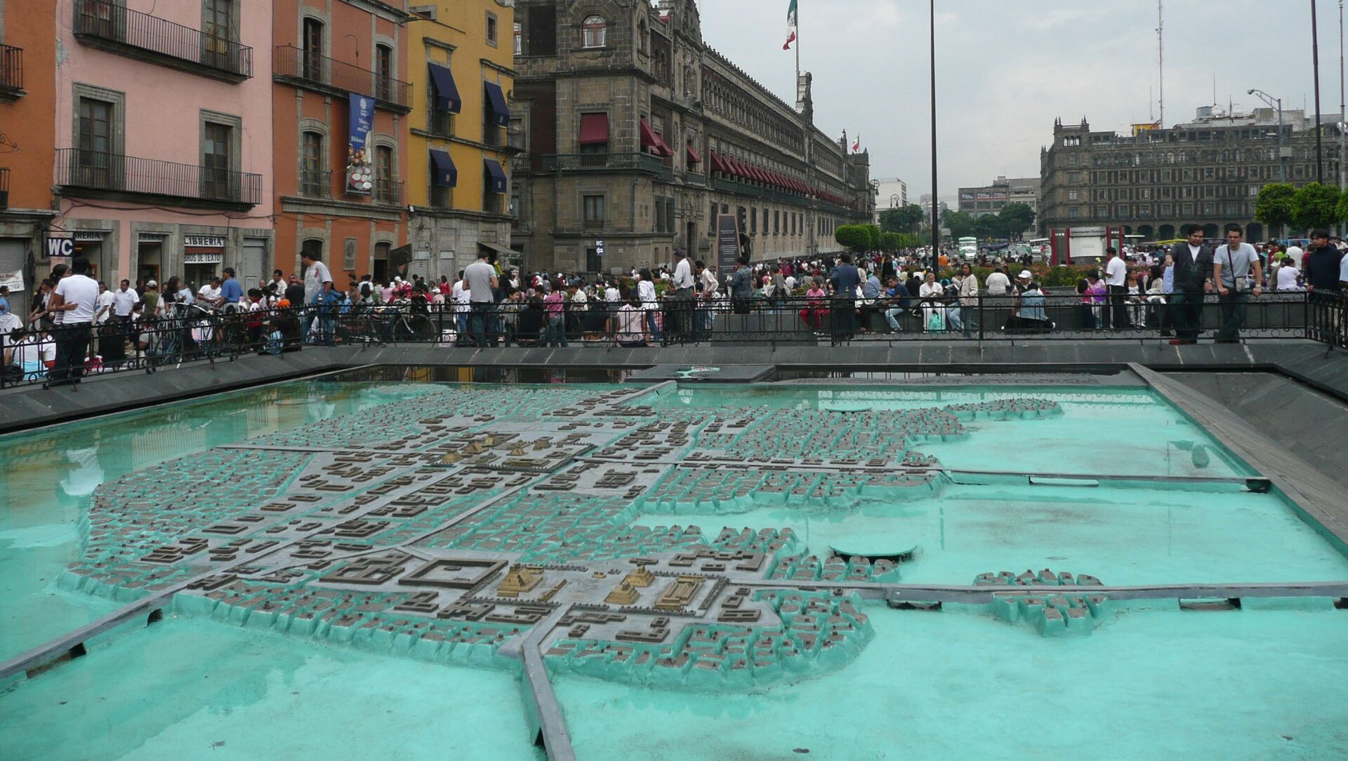 El modelo de Tenochtitlan en la Ciudad de México - Sputnik Mundo, 1920, 13.08.2020