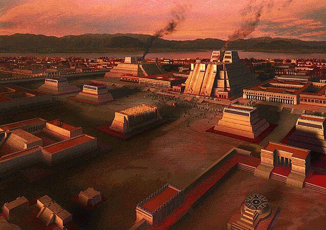 Tenochtitlán, capital del Imperio mexica