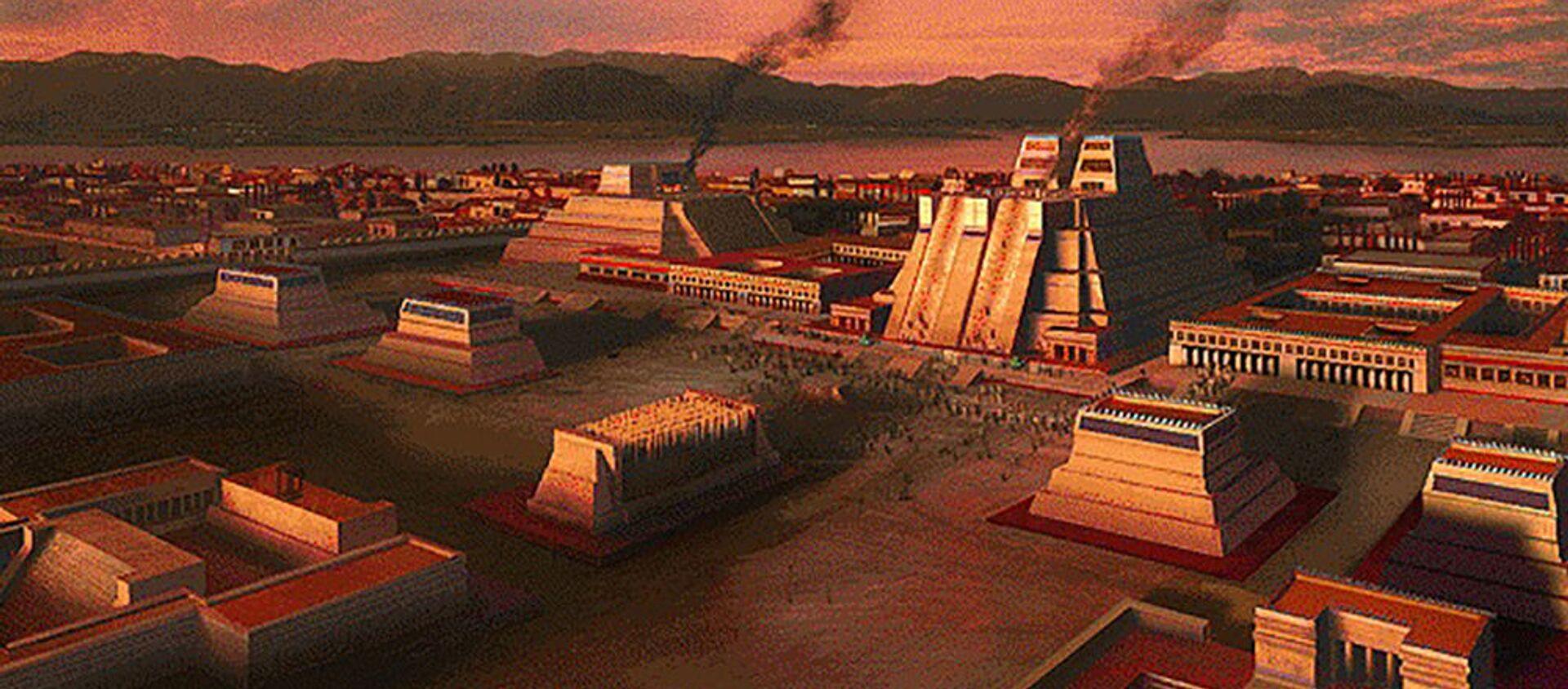 Tenochtitlán, capital del Imperio mexica - Sputnik Mundo, 1920, 23.05.2020