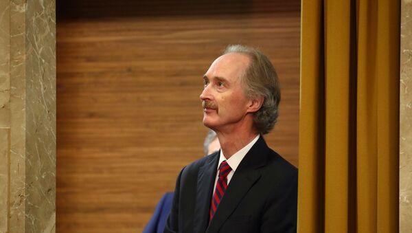 Geir Pedersen, enviado especial de la ONU para Siria - Sputnik Mundo