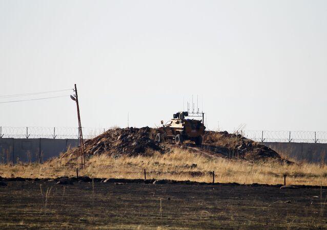 Patrullaje ruso-turco en Siria (archivo)