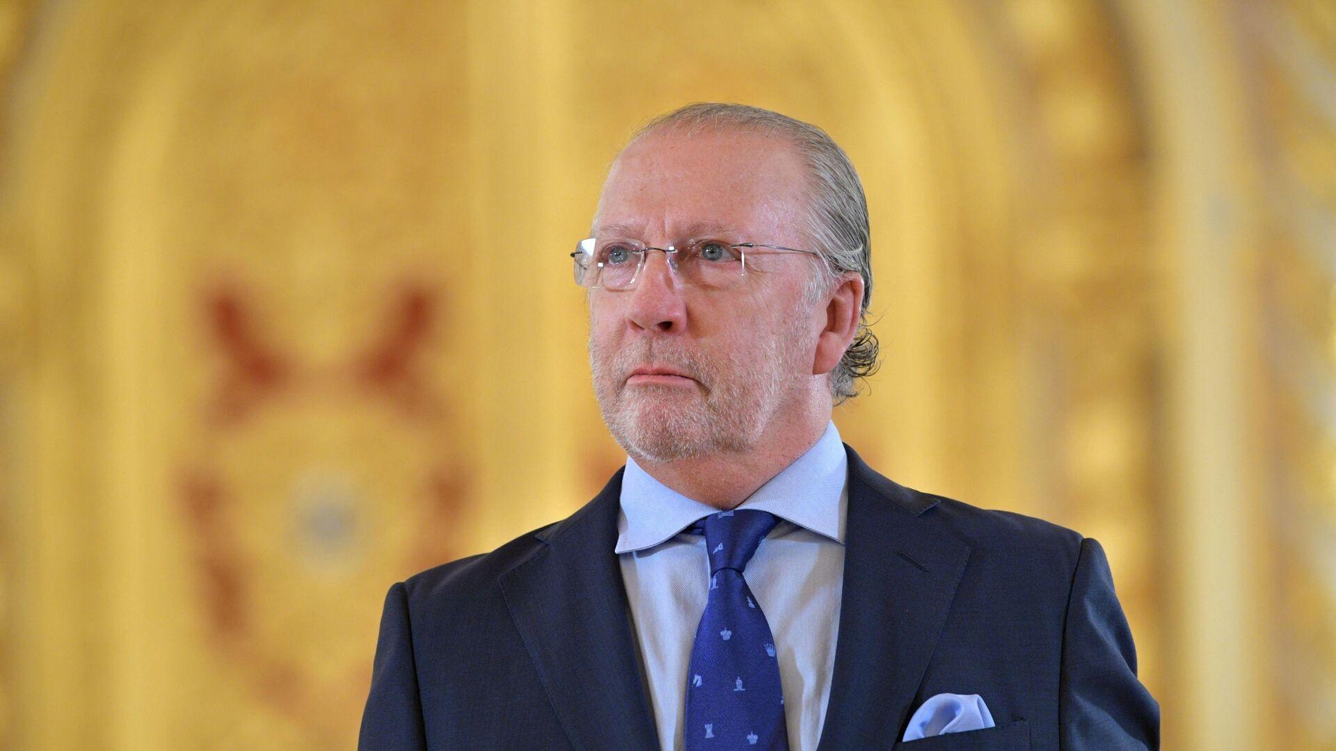 Fernando Valderrama Pareja, el embajador de España en Moscú  - Sputnik Mundo, 1920, 05.06.2021