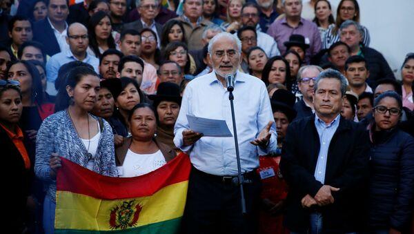 Carlos Mesa, opositor boliviano - Sputnik Mundo
