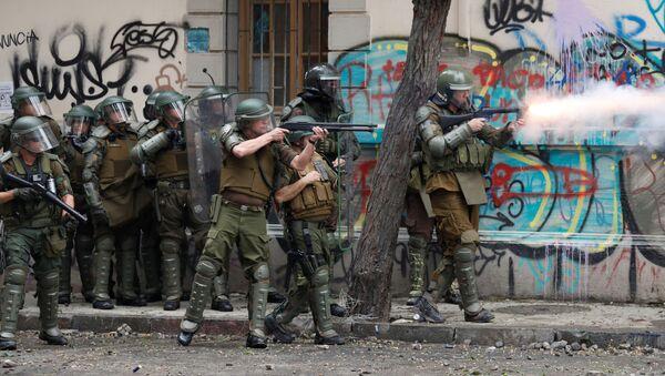 Policía de Chile - Sputnik Mundo