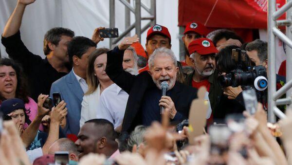 Luiz Inácio 'Lula' da Silva, expresidente de Brasil - Sputnik Mundo