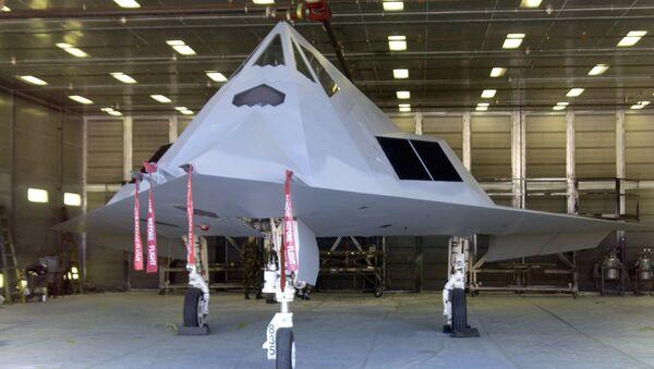 Un cazabombardero F-117 - Sputnik Mundo