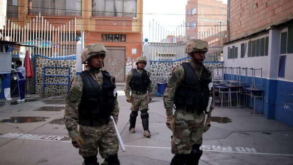 Soldados de las Fuerzas Armadas de Bolivia (archivo) - Sputnik Mundo