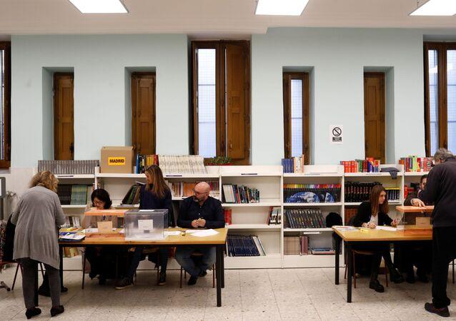 Inicia jornada electoral en España