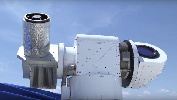 Arma láser ATHENA - Sputnik Mundo