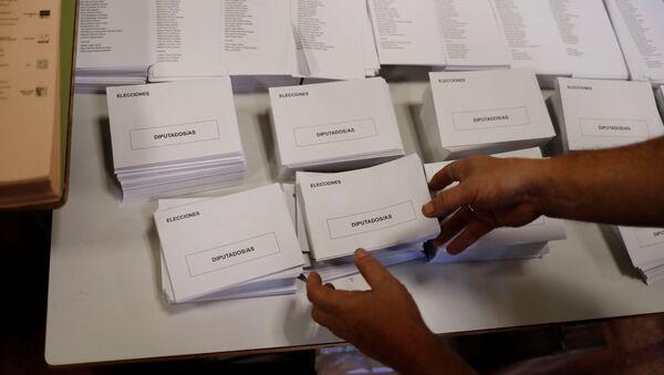 Elecciones presidenciales en España - Sputnik Mundo