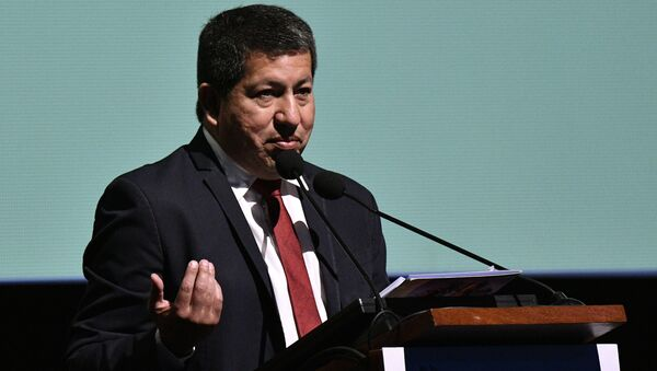 Luis Alberto Sánchez, exministro de Hidrocarburos boliviano - Sputnik Mundo