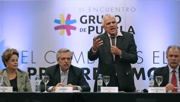 Los líderes del Grupo de Puebla - Sputnik Mundo