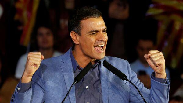 Pedro Sánchez, presidente del Gobierno de España en funciones - Sputnik Mundo
