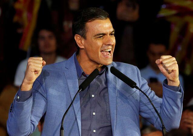 Pedro Sánchez, presidente del Gobierno de España en funciones