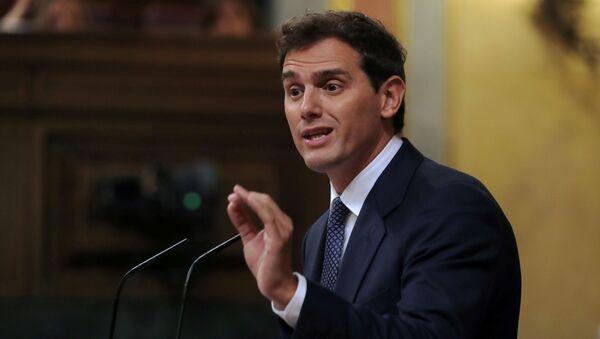 Albert Rivera, líder del partido político español Ciudadanos - Sputnik Mundo