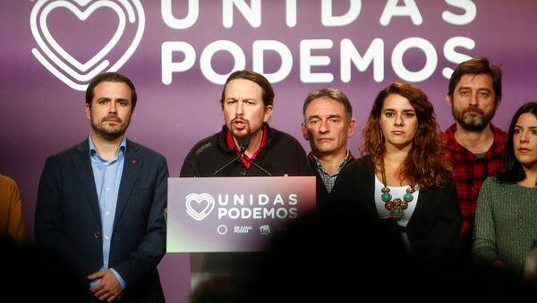 Pablo Iglesias, líder de Unidas Podemos - Sputnik Mundo