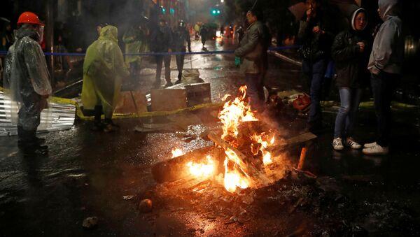 Disturbios en La Paz, Bolivia - Sputnik Mundo