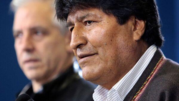 Evo Morales, el expresidente de Bolivia - Sputnik Mundo